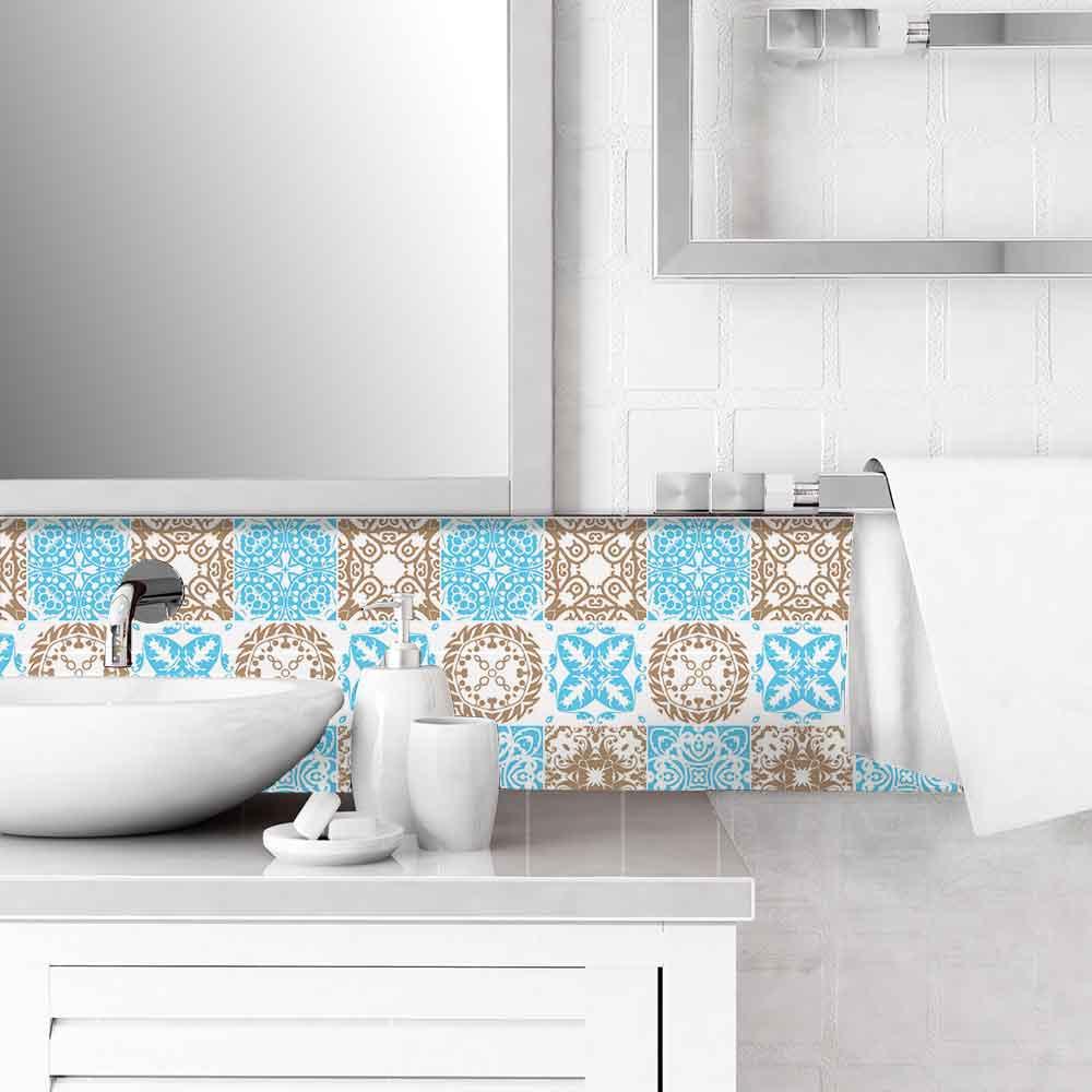 KIT Adesivos de Azulejos Nature