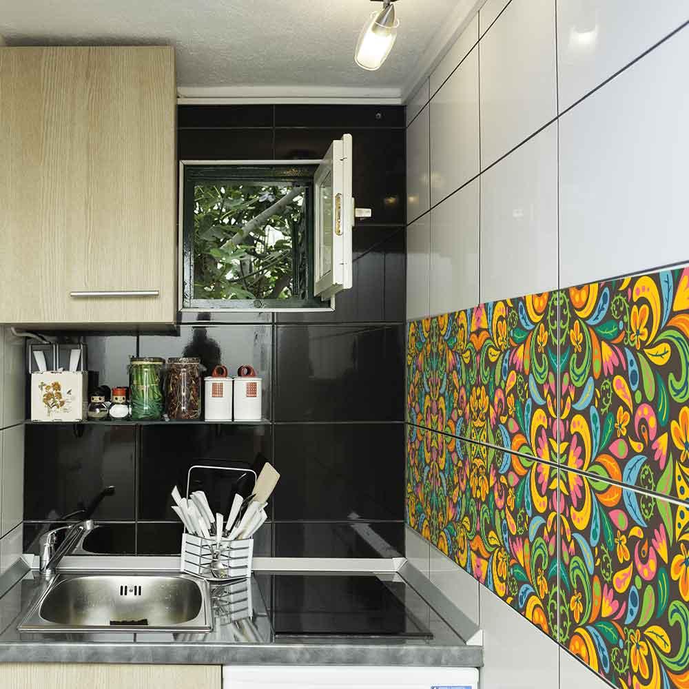 KIT Adesivos de Azulejos Natureza Tropical