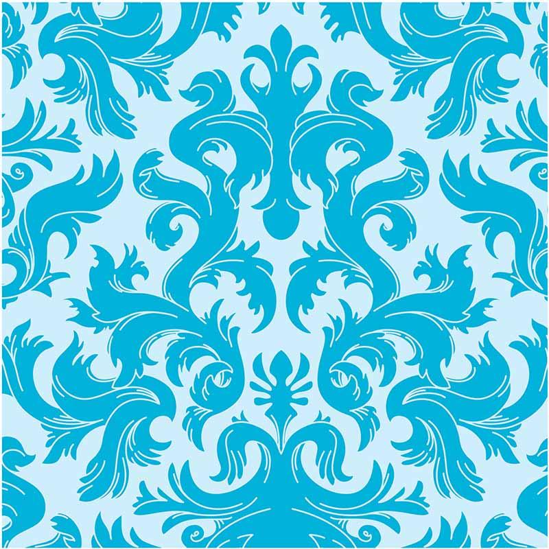 KIT Adesivos de Azulejos Ornamental Blue
