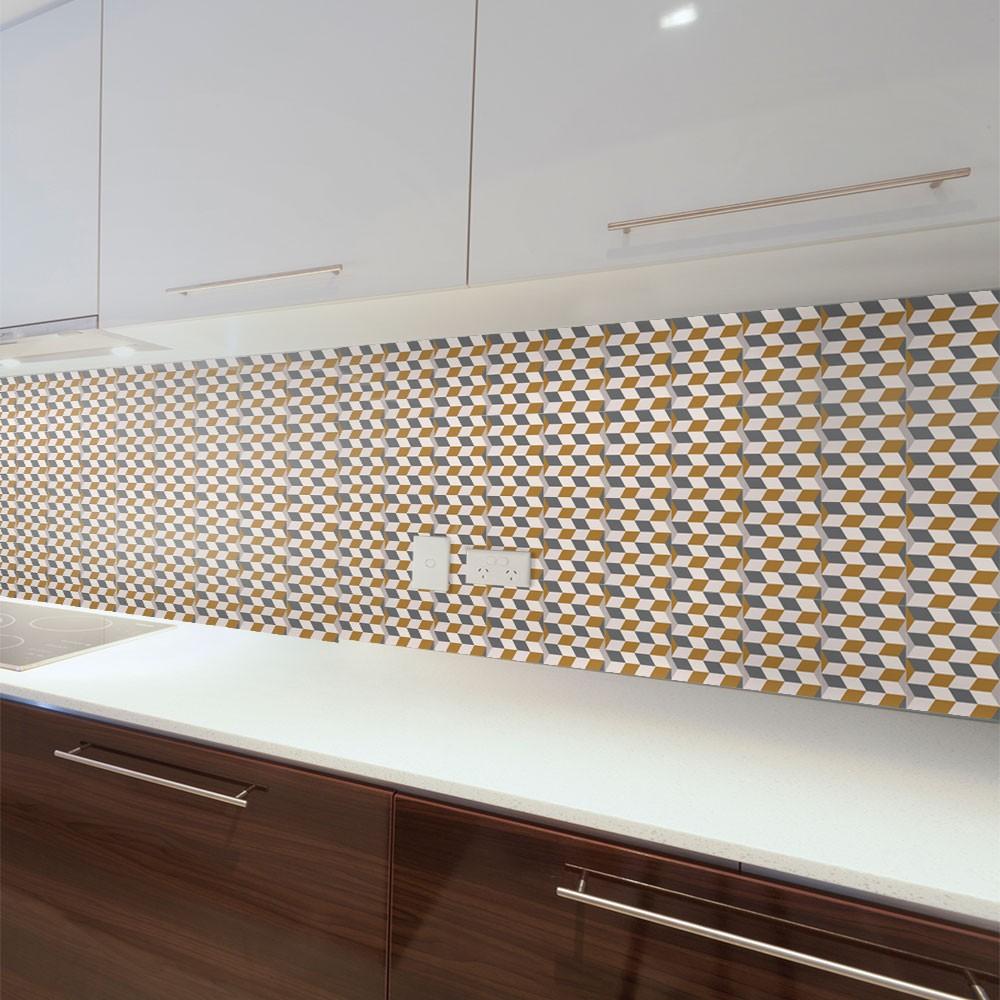 KIT Adesivos de Azulejos Perspectiva Quadrado