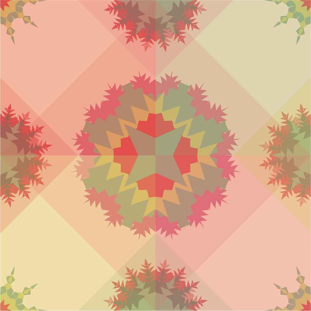 KIT Adesivos de Azulejos Plantas Transparentes