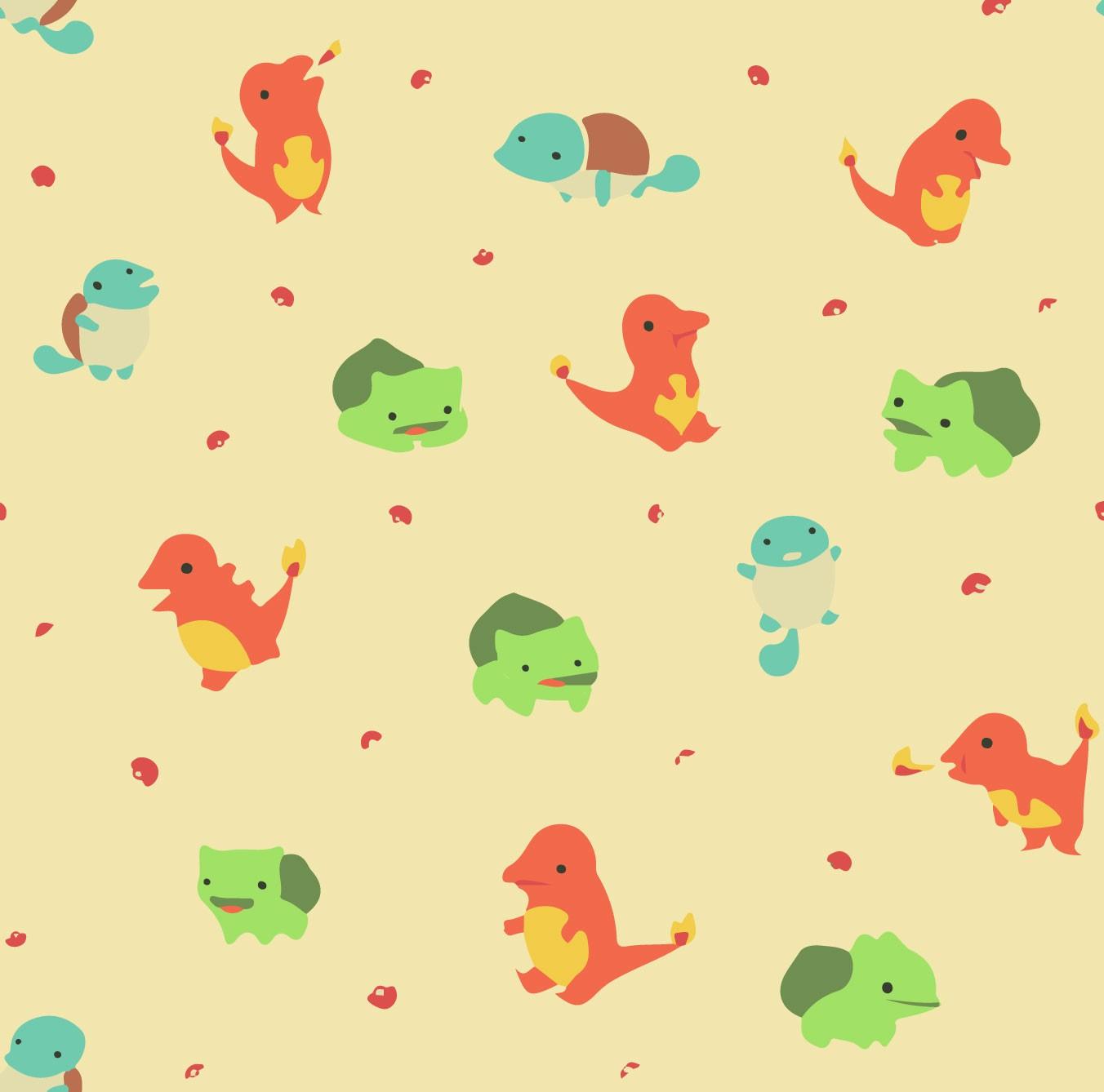 KIT Adesivos de Azulejos Pokémon