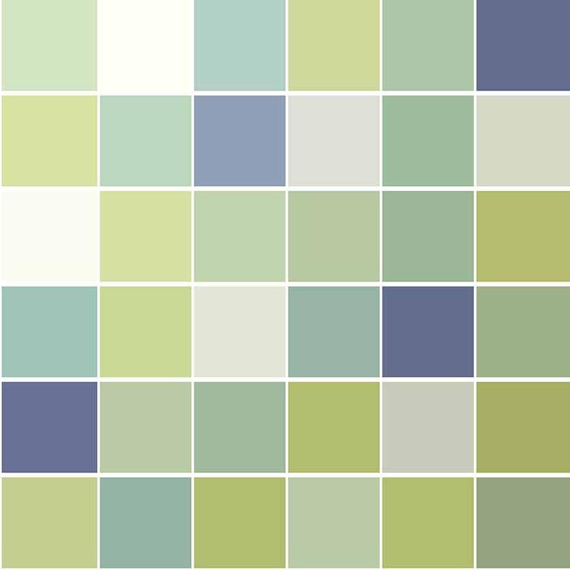 KIT Adesivos de Azulejos Quadriculado