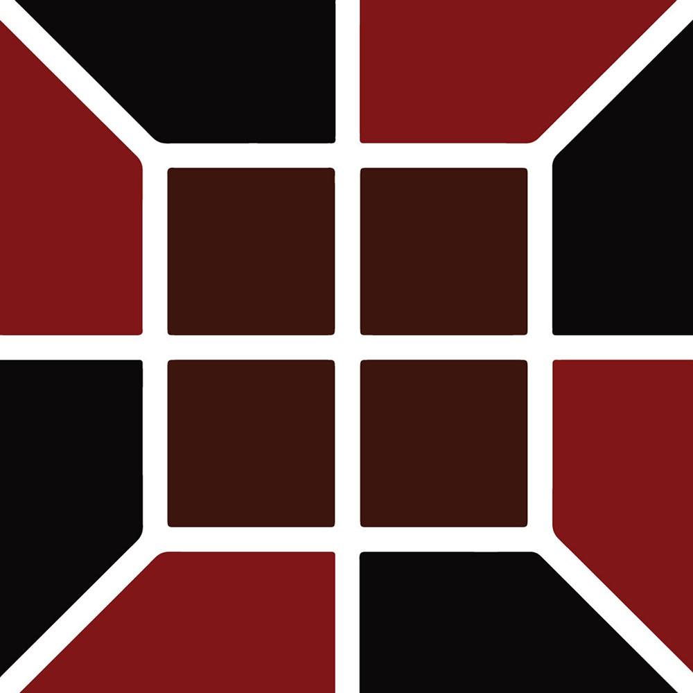 KIT Adesivos de Azulejos Red Old