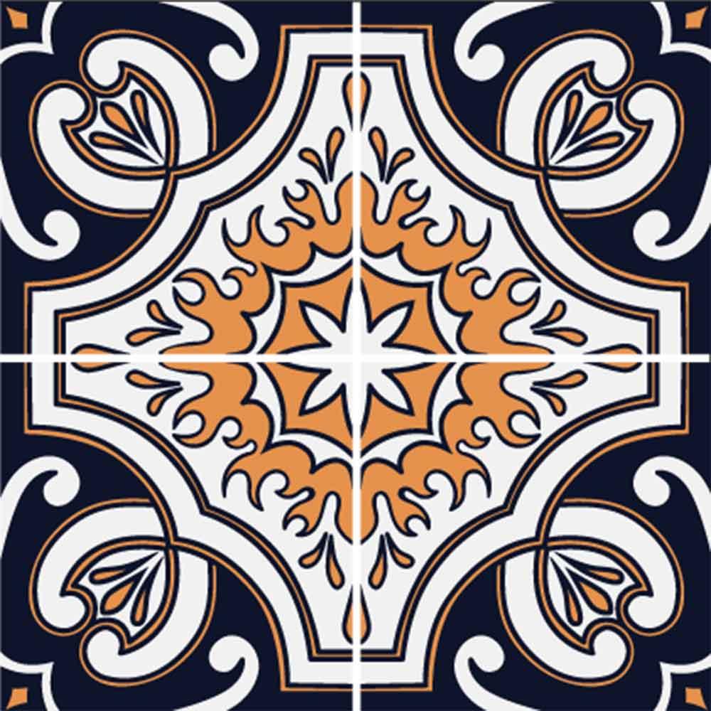 KIT Adesivos de Azulejos Reino