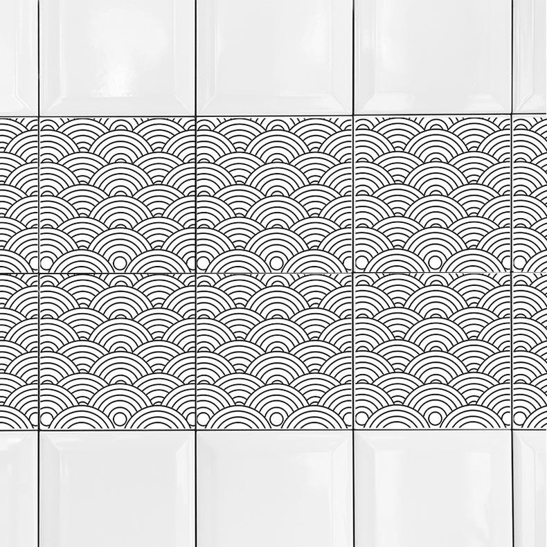KIT Adesivos de Azulejos Travel