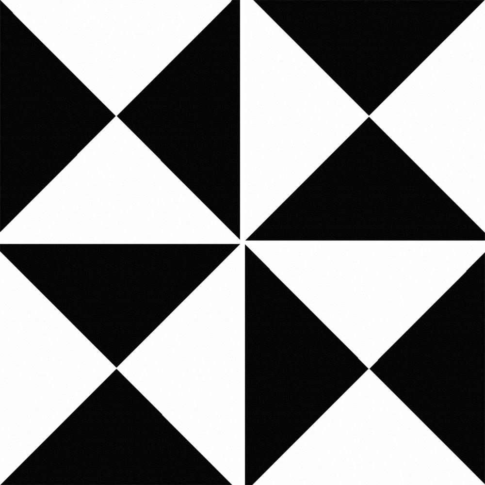 KIT Adesivos de  Azulejos Triângulos Xadrez
