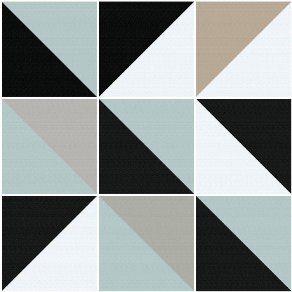 KIT Adesivos de Azulejos Triângulo Vint