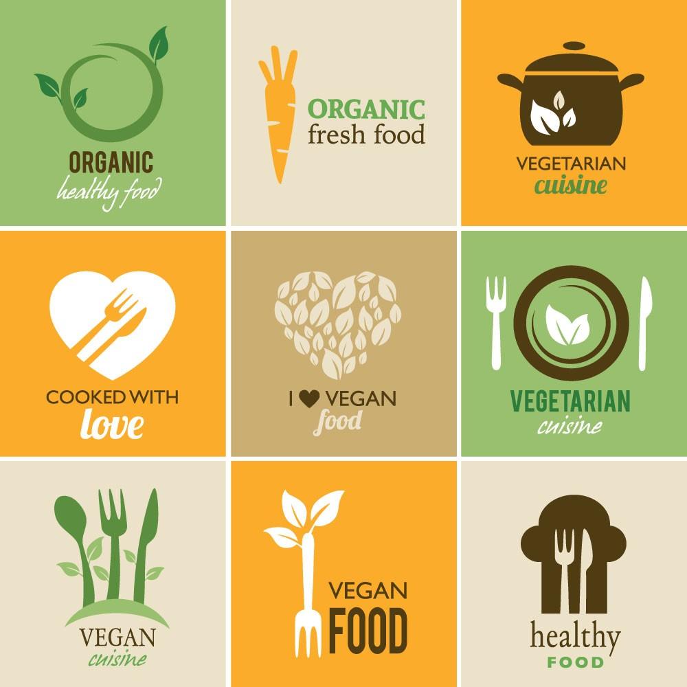 KIT Adesivos de Azulejos Vegan Food