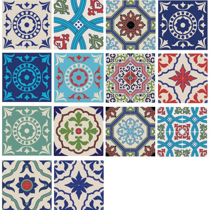 KIT Adesivos de Azulejos Venustos