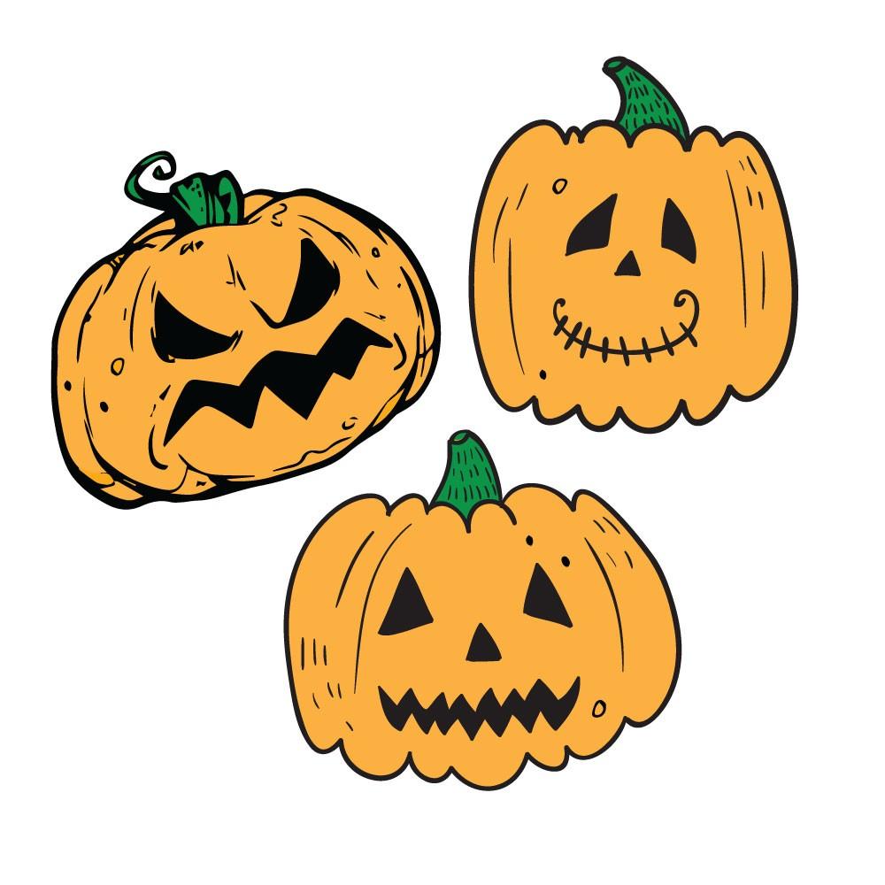 KIT Adesivos Decorativos Halloween Abo?boras