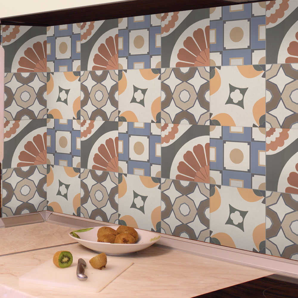 KIT de Adesivos de Azulejo Marroc