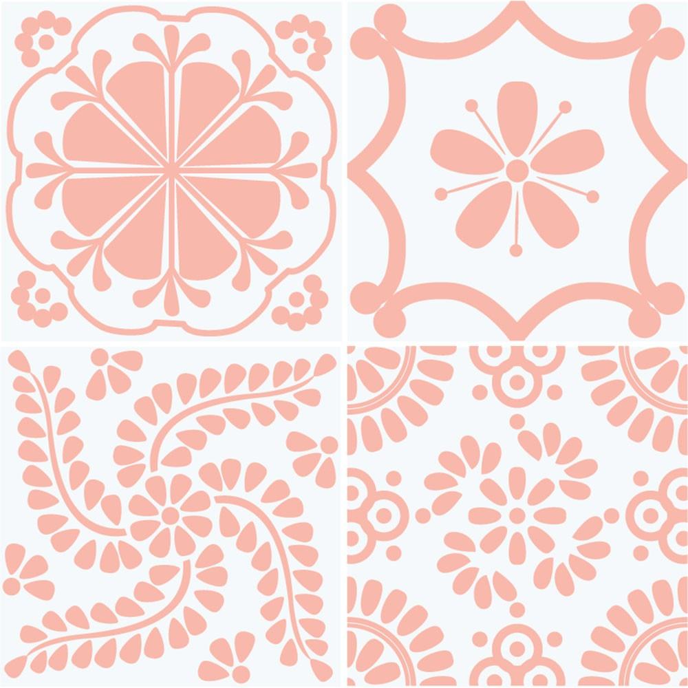 KIT de Adesivos de Azulejos Harmony