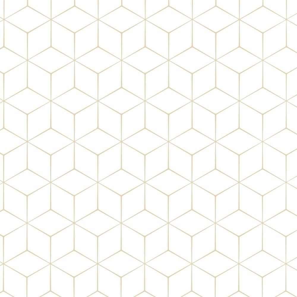 Papel de Parede azulejo Cubos 3D