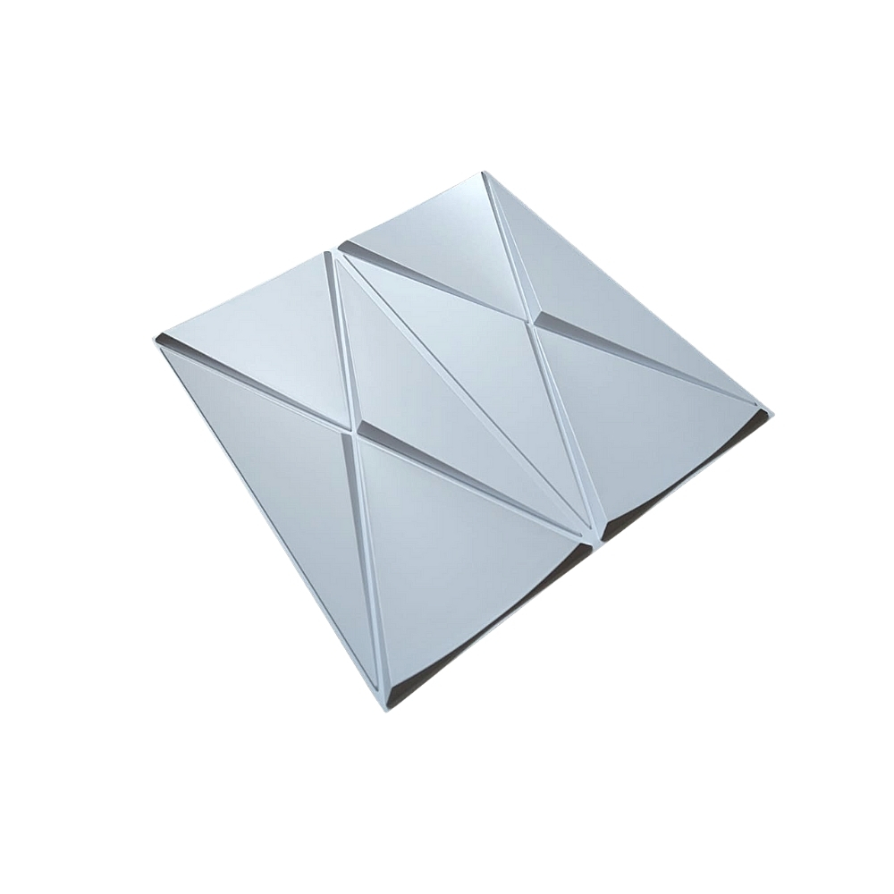 Placa 3D Autoadesiva 25x25 cm Dubai - Linha POP