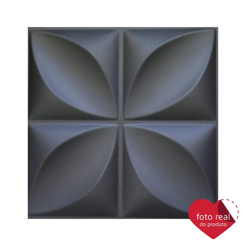 Placa 3D AutoAdesiva 50 x 50cm Pétala - Linha PREMIUM