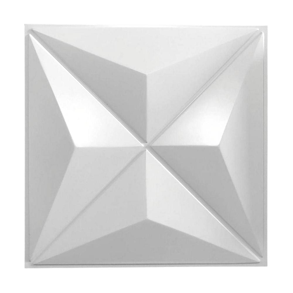 Placa 3D Autoadesiva 50x50 Berlim - Linha POP