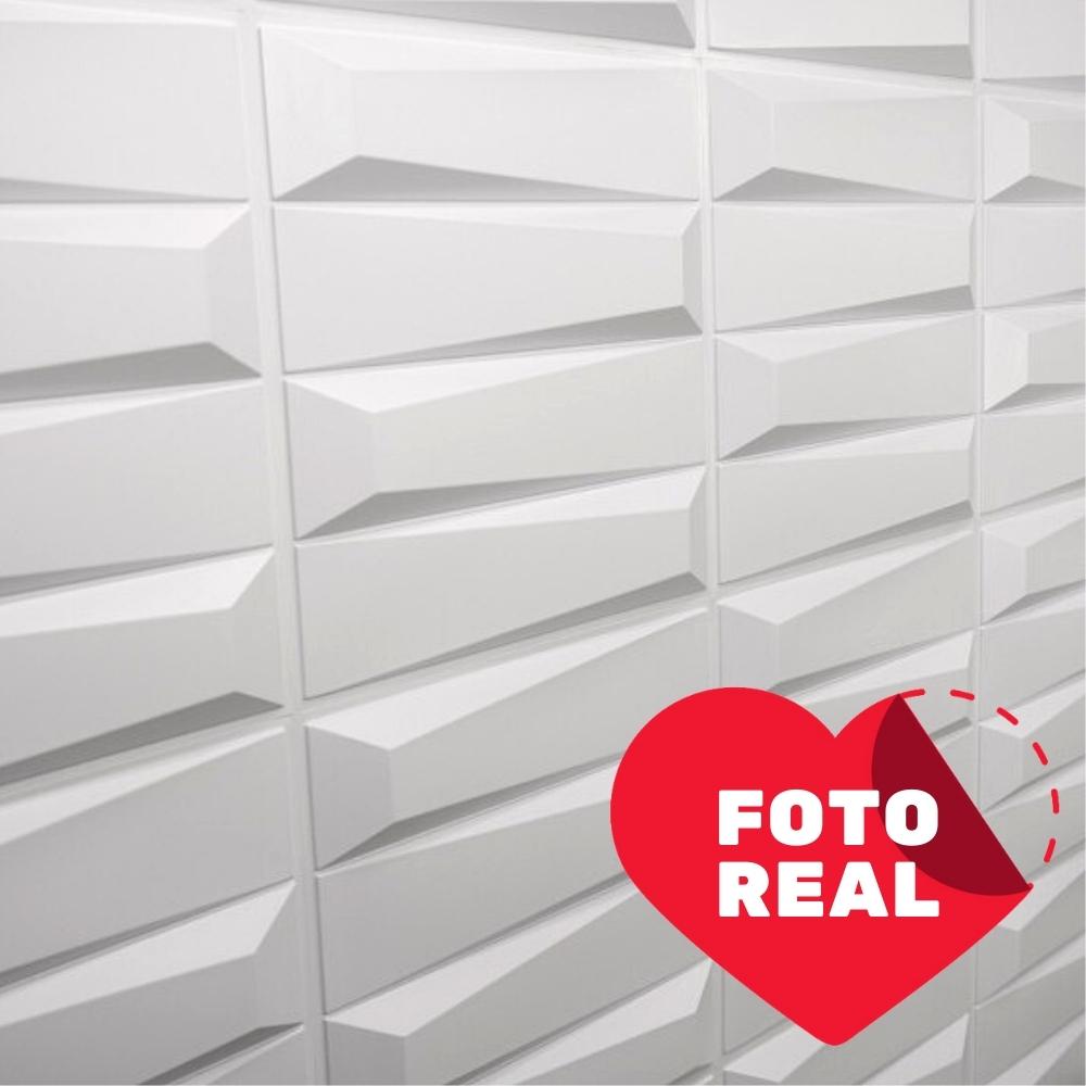Placa 3D Autoadesiva 50x50 Zurich - Linha POP