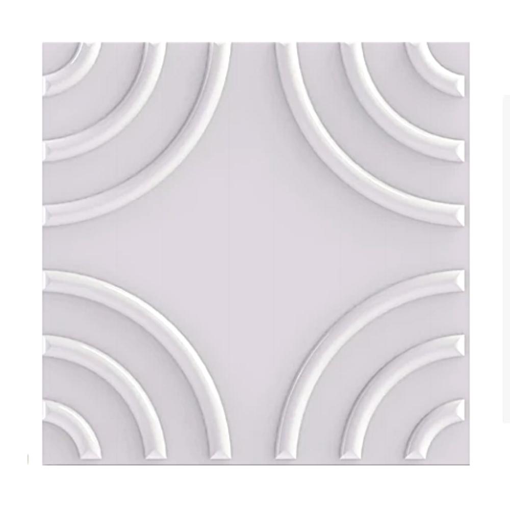 Placa 3D Revestimento 50x50 Circulare - Linha PREMIUM