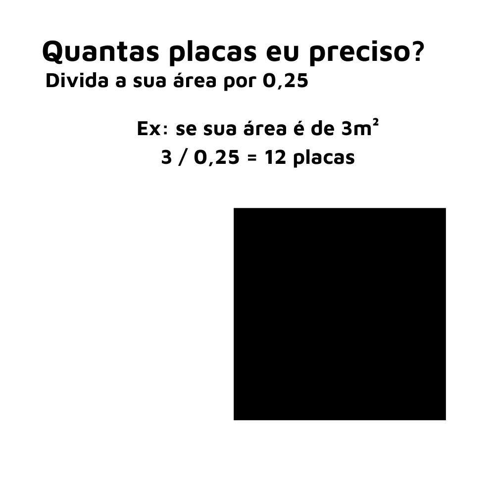Placa 3D Revestimento 50x50 Pétala - Linha PREMIUM