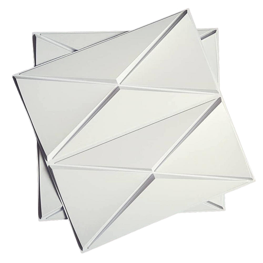 Placa 3D Revestimento 50x50 Ravena - Linha PREMIUM