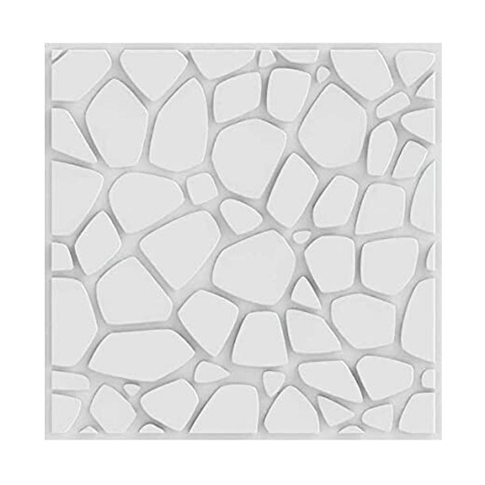 Placa 3D Revestimento 50x50 Stone - Linha PREMIUM