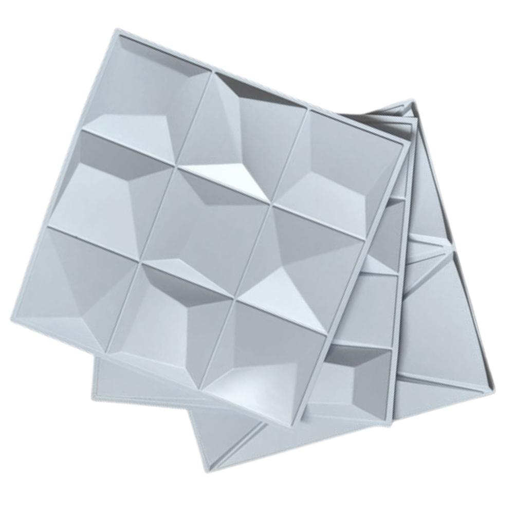 Placa 3D Revestimento 50x50 Vértice - Linha PREMIUM