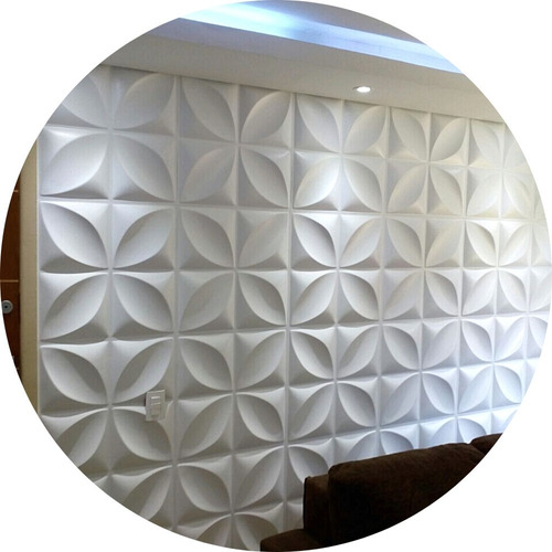 Placa Revestimento 3d Autoadesiva Luxo Decoração Kit 11 Un