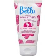 Depill Bella Creme Depilatório Facial Pétalas de Rosas 40g