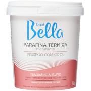 DEPIL BELLA PARAFINA TÊRMICA, PÊSSEGO COM COCO 350g
