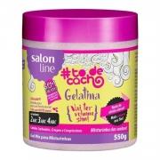 SALON LINE #TODECACHO GELATINA VAI TER VOLUME SIM!  - 550 g