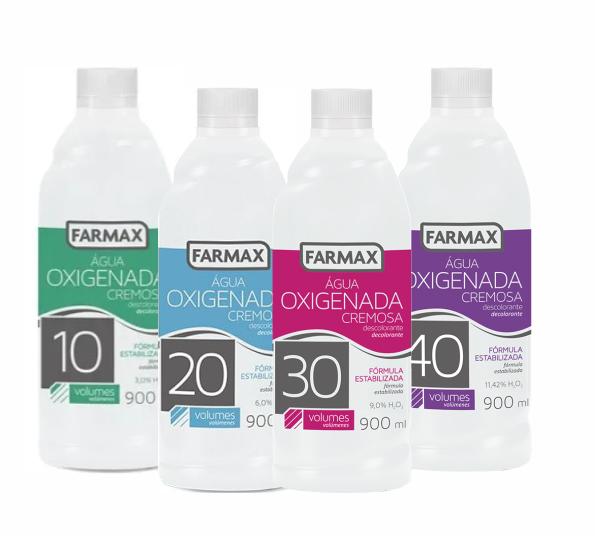 ÁGUA OXIGENADA FARMAX 900ML (cada)