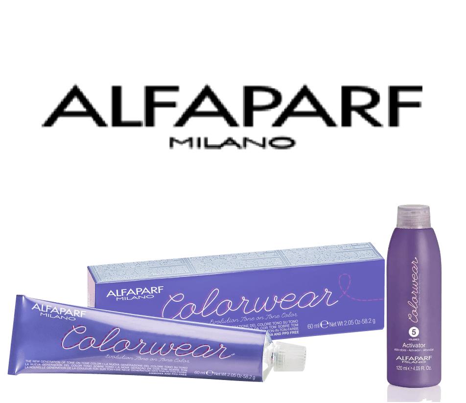 Alfaparf Color Wear 60ml + Emulsão Ativadora 120ml
