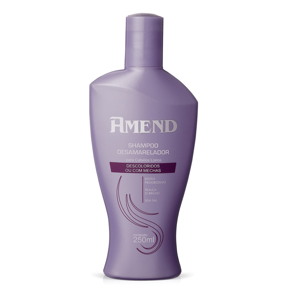 AMEND SHAMPOO DESCOLORIDOS OU COM MECHAS 250ML
