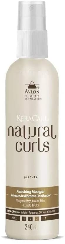 AVLON KERACARE NATURAL CURLS FINALIZADOR VINAGRE - 240 ml