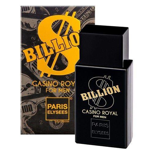 PERFUME BILLION CASSINO ROYAL - PARIS ELYSEES 100ML