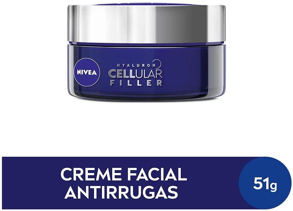 Creme Facial Noite Cellular Filler Antissinais Nivea 51g