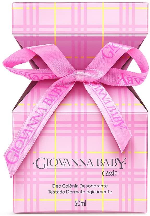 Deo Colônia Giovanna Baby Classic 50ml