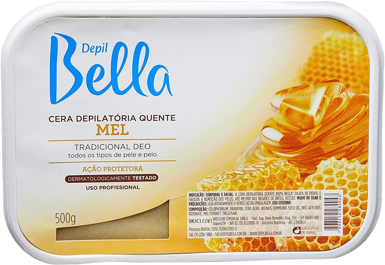 DEPIL BELLA CERA BARRA TRADICIONAL 500G (Escolha a sua)