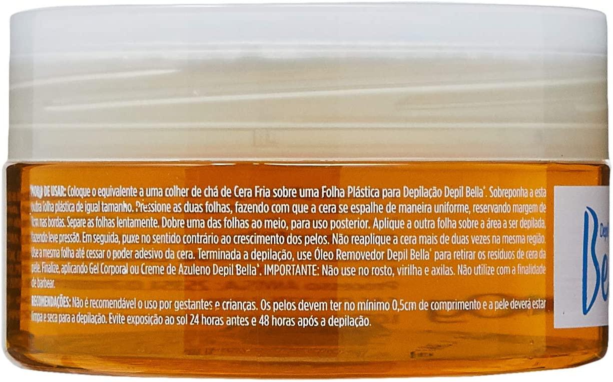 DEPIL BELLA CERA DEPILATÓRIA FRIA 500 g