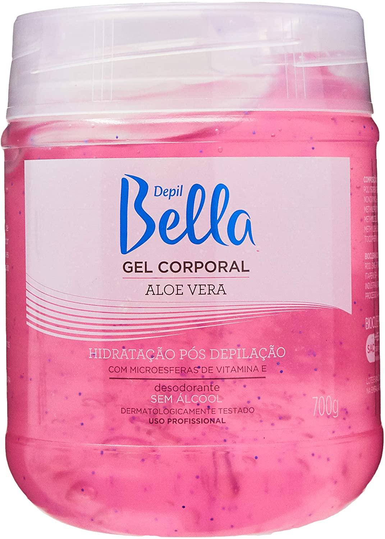 DEPIL BELLA GEL CORPORAL ALOE VERA 700g