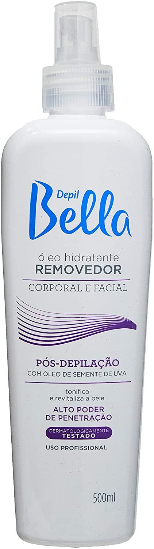 DEPIL BELLA ÓLEO HIDRATANTE PÓS-DEPILAÇÃO REMOVEDOR UVA 500 ml