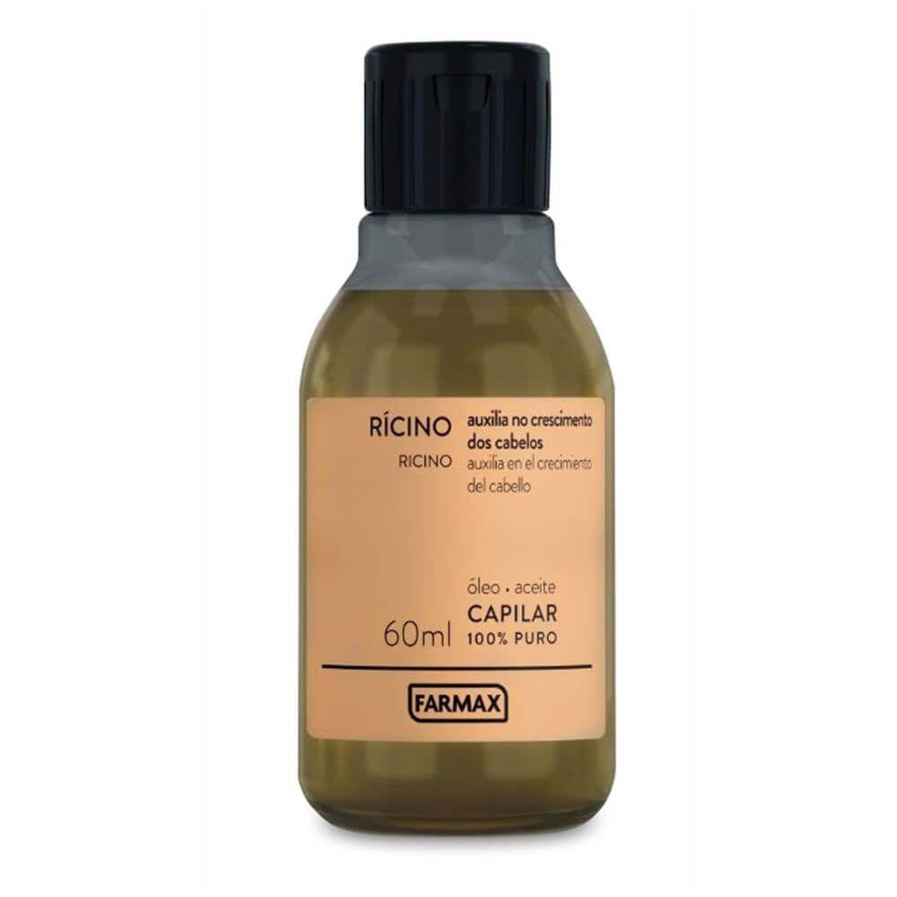 FARMAX ÓLEO CAPILAR RÍCINO - 60 ml