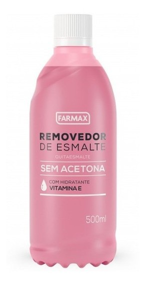 FARMAX REMOVEDOR SEM ACETONA 500ML (CADA)