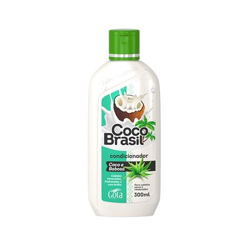 GOTA DOURADA CONDICIONADOR COCO BRASIL COCO E BABOSA 300ML