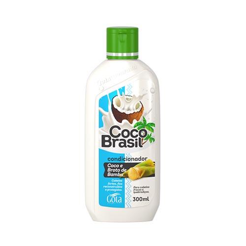 GOTA DOURADA CONDICIONADOR COCO BRASIL COCO E BROTO DE BAMBU 300ML
