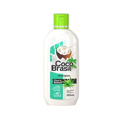 GOTA DOURADA SHAMPOO COCO BRASIL COCO E BABOSA 300ML