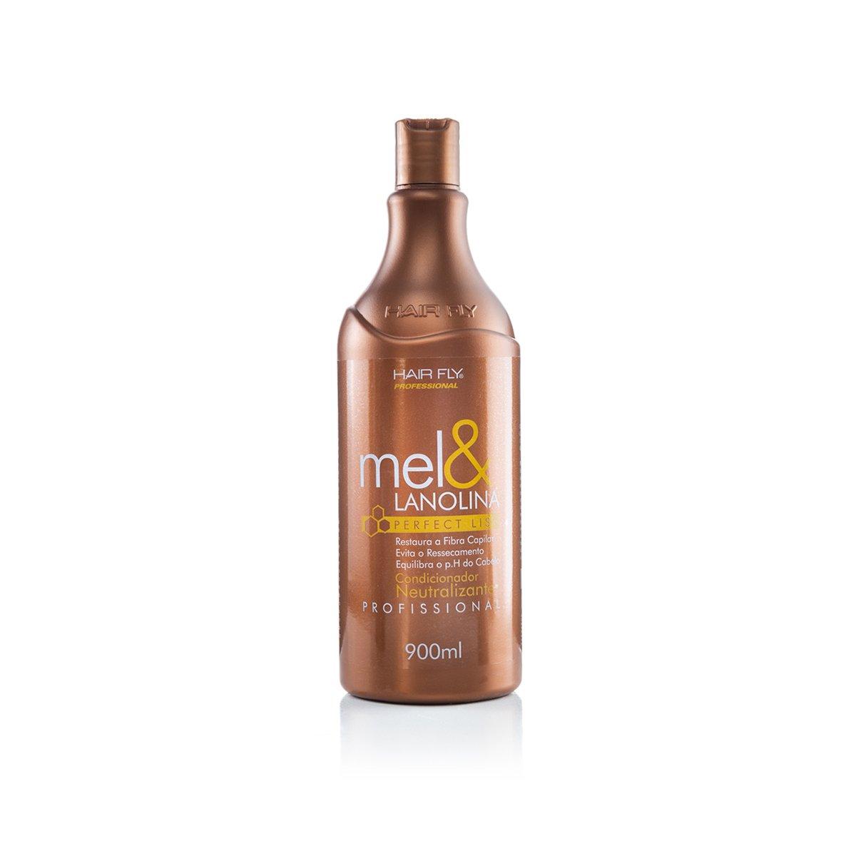 HAIR FLY CONDICIONADOR NEUTRALIZANTE MEL & LANOLINA 900ML