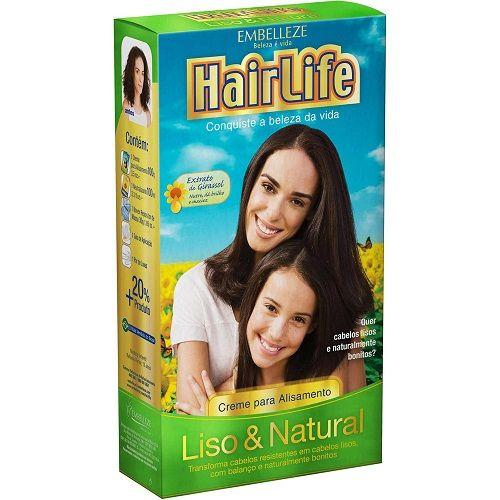 EMBELLEZE HAIR LIFE CREME PARA ALISAMENTO LISO & NATURAL 180 G