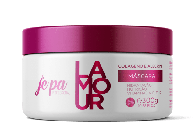JEPA KIT HIDRATAÇÃO E NUTRIÇÃO COLÁGENO E ALECRIM 3X300 G